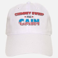 Chimney sweep for Cain Baseball Baseball Cap