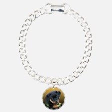 Rottweiler Puppy on more Gift Bracelet