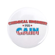"""Chemical engineer for Cain 3.5"""" Button (100 pack)"""