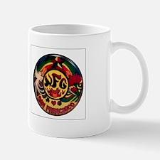 Mug: Neon Bassman psychedelic style