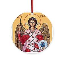 The Archangel, Saint Michael Ornament (Round)