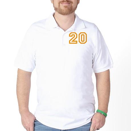 Number 20 Golf Shirt