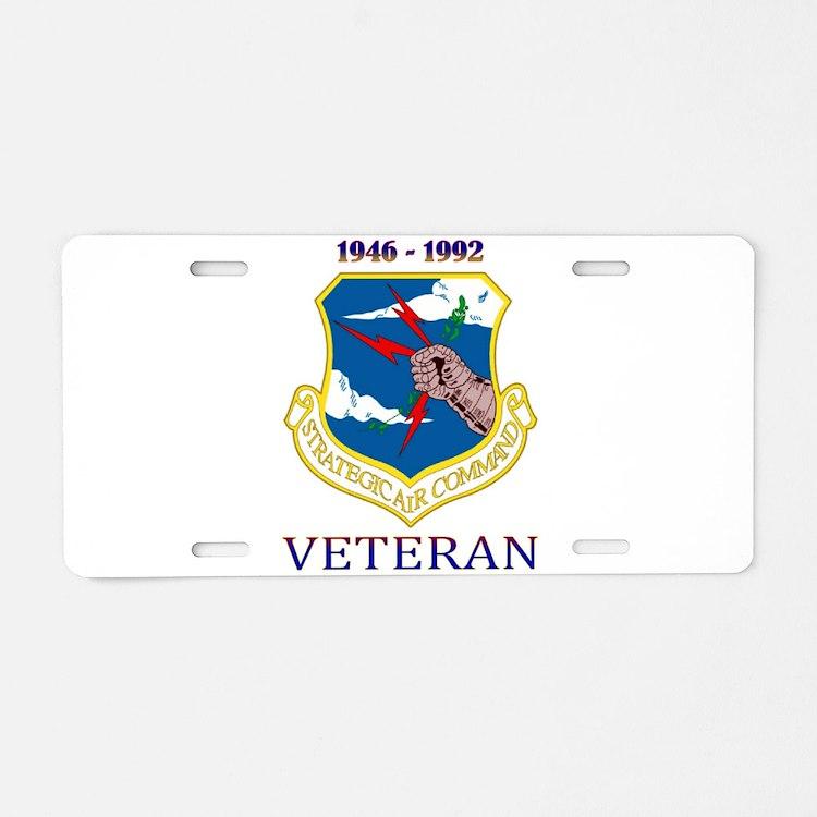 SAC Veteran! Aluminum License Plate