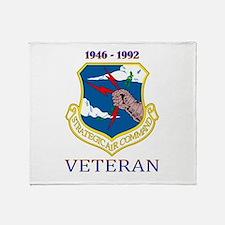 SAC Veteran! Throw Blanket
