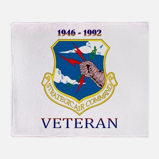 SAC Veteran! Throw Blanket