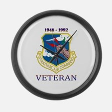 SAC Veteran! Large Wall Clock