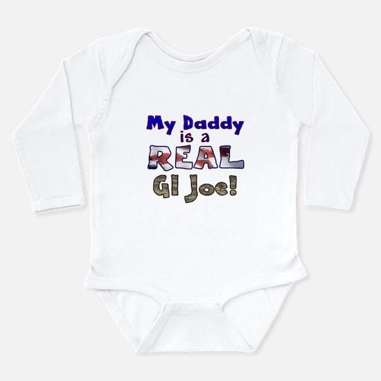 Real GI Joe Long Sleeve Infant Bodysuit
