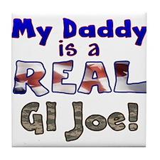 Real GI Joe Tile Coaster