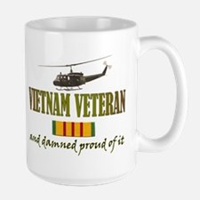 Proud Vietnam Veteran Ceramic Mugs