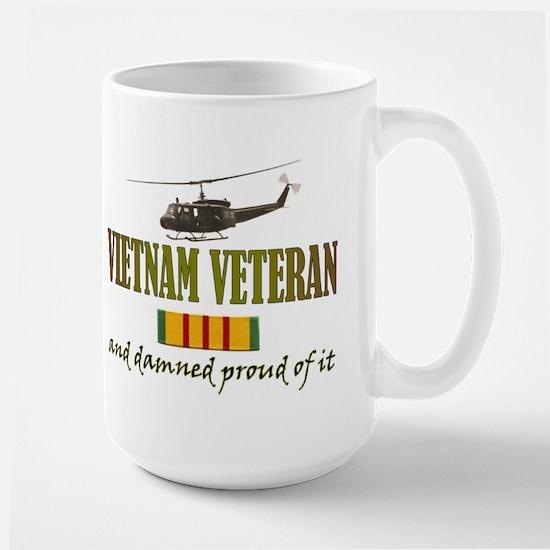 Proud Vietnam Veteran Large Mug