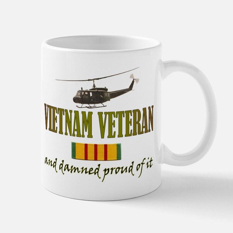 Proud Vietnam Veteran Small Mugs