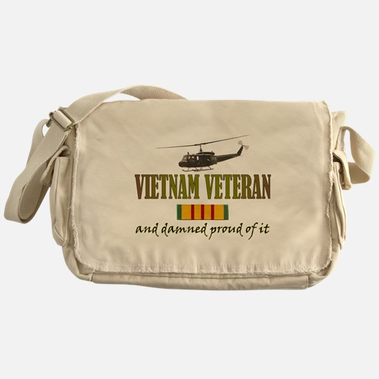 Proud Vietnam Veteran Messenger Bag
