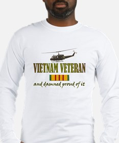 Proud Vietnam Veteran Long Sleeve T-Shirt