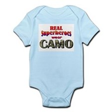 real superheroes - Multicam Infant Bodysuit
