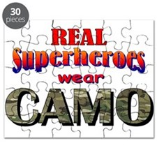 real superheroes - Multicam Puzzle