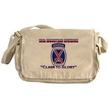10th Mountain Division Messenger Bag