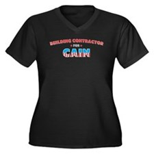 Building contractor for Cain Women's Plus Size V-N