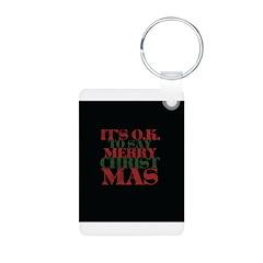Christian Christmas Keychains