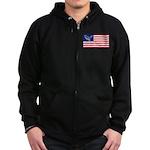 Dino USA Zip Hoodie (dark)