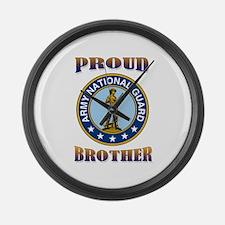 NG pride - brother Large Wall Clock