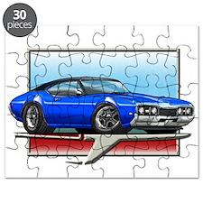 Blue BT 68 Cutlass Puzzle