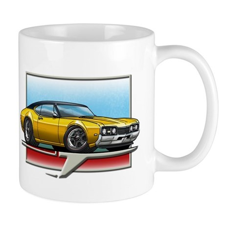 Gold BT 68 Cutlass Mug