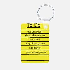 JDE - Video Gamer To Do List Keychains