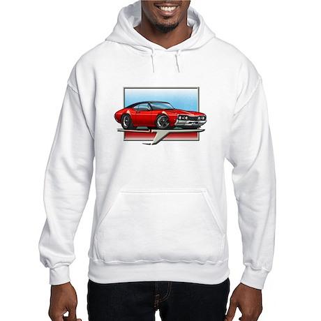 Red BT 68 Cutlass Hooded Sweatshirt
