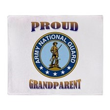 NG pride - grandparent Throw Blanket