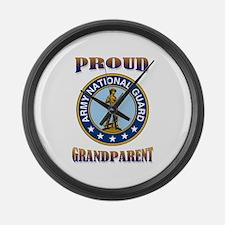 NG pride - grandparent Large Wall Clock