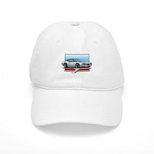 White BT 68 Cutlass Baseball Cap