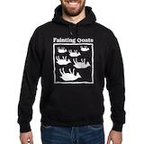 Fainting goat Hoodie (dark)