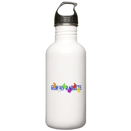 Gummy Rabbits Stainless Water Bottle 1.0L