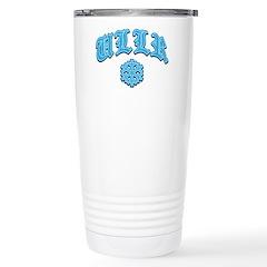 Ullr Fest Snowflake Travel Mug