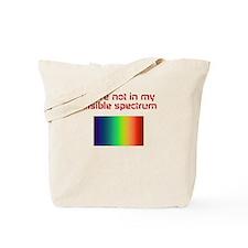 Cute Electromagnetic spectrum Tote Bag