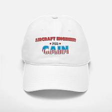 Aircraft engineer for Cain Baseball Baseball Cap