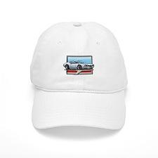 White 68 Cutlass Baseball Cap