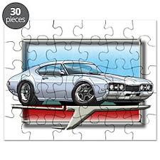 White 68 Cutlass Puzzle