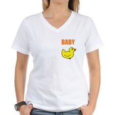 BABY DUCK WOMEN'S V-NECK