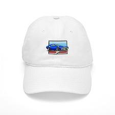 Blue 68 Cutlass Baseball Cap