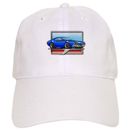 Blue 68 Cutlass Cap