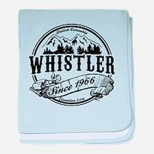 Whistler Old Circle baby blanket