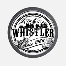 Whistler Old Circle Wall Clock