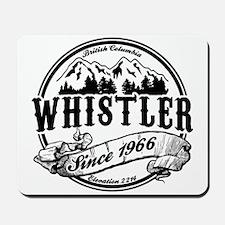 Whistler Old Circle Mousepad