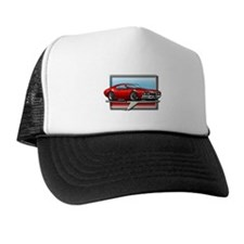 Red 68 Cutlass Trucker Hat