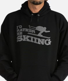 I'd Rather be Skiing Hoody