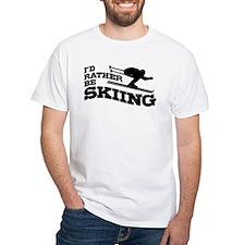 I'd Rather be Skiing Shirt