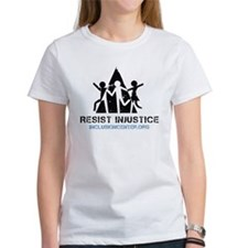 Resist Injustice dark on ligh Tee