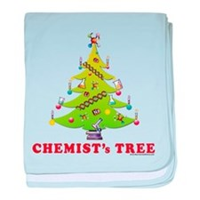 Chemist's TREE! HOLIDAY baby blanket