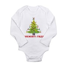 Chemist's TREE! HOLIDAY Long Sleeve Infant Bodysui